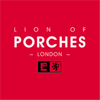 lion of porsches logo